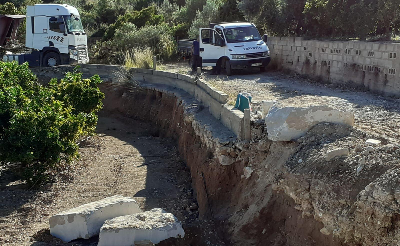 L'Ajuntament d'Alcanar ha adequat els camins per a l'inici de la collita de cítrics amb el suport de la Generalitat