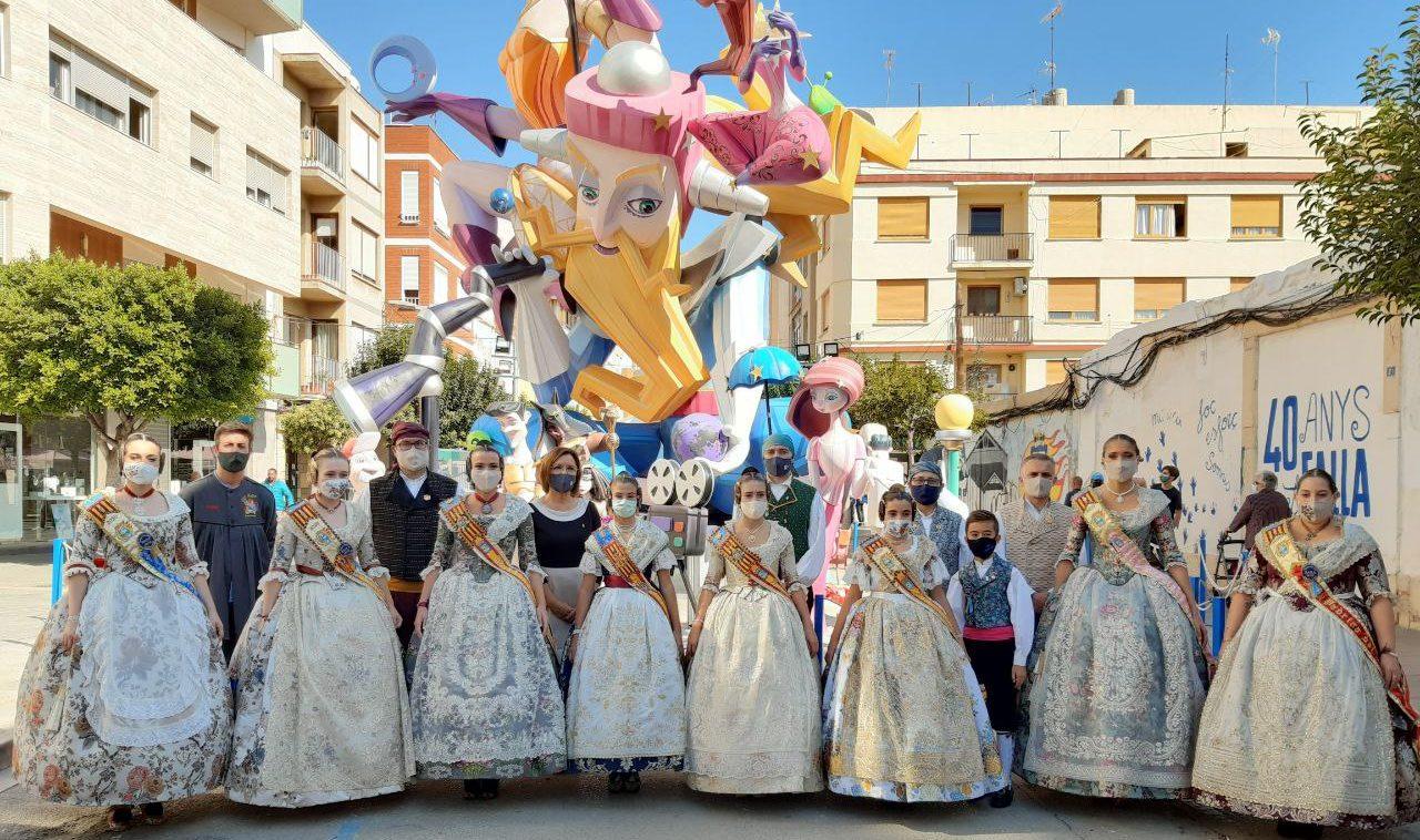 La Fallera Major Infantil de València visita Benicarló