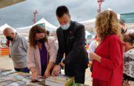 La diputada de Cultura assisteix a la inauguració de la Fira del Llibre de Vinaròs